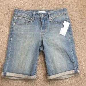 Jessica Simpson maxwell jean shorts sz 25 NWT $44
